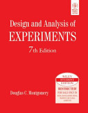 DESIGN AND ANALYSIS OF EXPERIMENTS  7TH ED