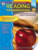 Reading For Understanding Grades 1 2