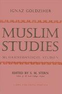 Muslim Studies, Vol. 1