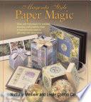 Magenta Style Paper Magic Book