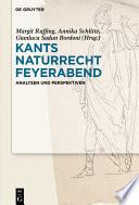 Kants Naturrecht Feyerabend