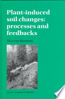Plant Induced Soil Changes Processes And Feedbacks Book PDF