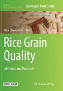 Rice Grain Quality