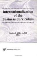Internationalization of the Business Curriculum