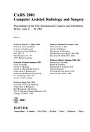 Computer Assisted Radiology And Surgery Book PDF