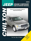 Chilton's Jeep Grand Cherokee 2005-09 Repair Manual