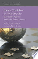 Energy Capitalism And World Order Book PDF