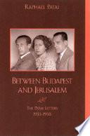 Between Budapest and Jerusalem