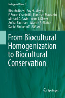 Pdf From Biocultural Homogenization to Biocultural Conservation