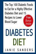 Diabetes Diet Book
