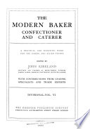 Modern Baker, Confectioner and Caterer