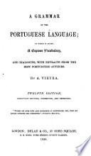 A Grammar of the Portuguese Language