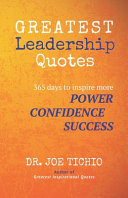Greatest Leadership Quotes