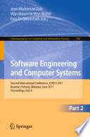 Software Engineering and Computer Systems  Part II