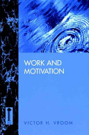 Work and Motivation
