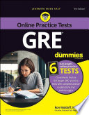 GRE For Dummies with Online Practice