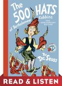 Pdf The 500 Hats of Bartholomew Cubbins: Read & Listen Edition Telecharger