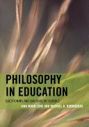 Philosophy in Education