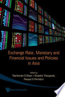 Exchange Rate Monetary And Financial Issues And Policies In Asia Book PDF
