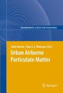Urban Airborne Particulate Matter [Pdf/ePub] eBook