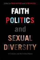 Faith, Politics, and Sexual Diversity in Canada and the United States Pdf/ePub eBook