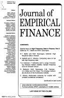 Journal of empirical finance