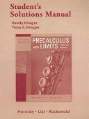 A Graphical Approach to Precalculus with Limits Student s Solutions Manual