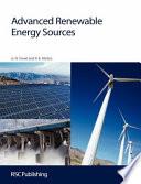 Advanced Renewable Energy Sources