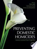 Preventing Domestic Homicides