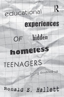 Educational Experiences of Hidden Homeless Teenagers