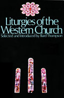 Liturgies Of The Western Church