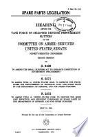 Spare Parts Legislation Book PDF