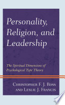Personality  Religion  and Leadership Book