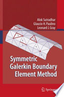 Symmetric Galerkin Boundary Element Method Book PDF