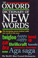 The Oxford Dictionary of New Words