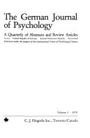 The German Journal of Psychology
