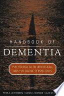 Handbook Of Dementia Book PDF