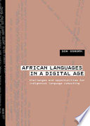 African Languages in a Digital Age