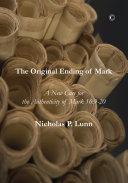 The Original Ending of Mark Pdf/ePub eBook