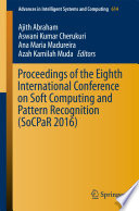 Proceedings of the Eighth International Conference on Soft Computing and Pattern Recognition  SoCPaR 2016