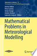 Mathematical Problems in Meteorological Modelling Book