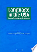 Language in the USA
