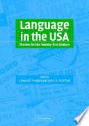 """Language in the USA: Themes for the Twenty-first Century"" by Charles Albert Ferguson, Edward Finegan, Shirley Brice Heath, John R. Rickford"