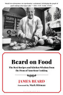 Beard on Food Book