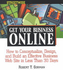 Streetwise Get Your Business Online