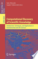 Computational Discovery of Scientific Knowledge Book