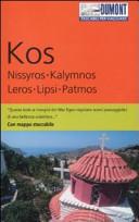 Guida Turistica Kos, Nissyros, Kalymnos, Leros, Lipsi, Patmos. Con mappa Immagine Copertina
