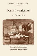 Death Investigation in America Pdf/ePub eBook