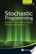 Stochastic Programming Book PDF