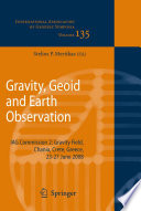 Gravity Geoid And Earth Observation Book PDF